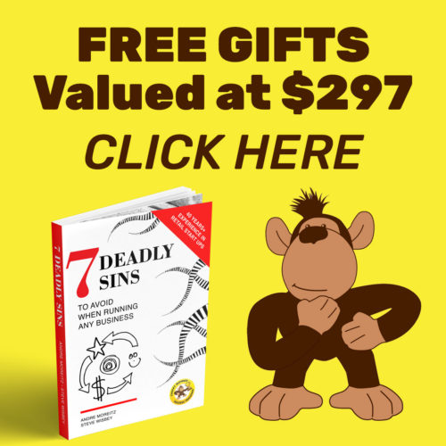 Free Marketing Gifts — including the ebook 7 Deadly Sins to avoid when running your business
